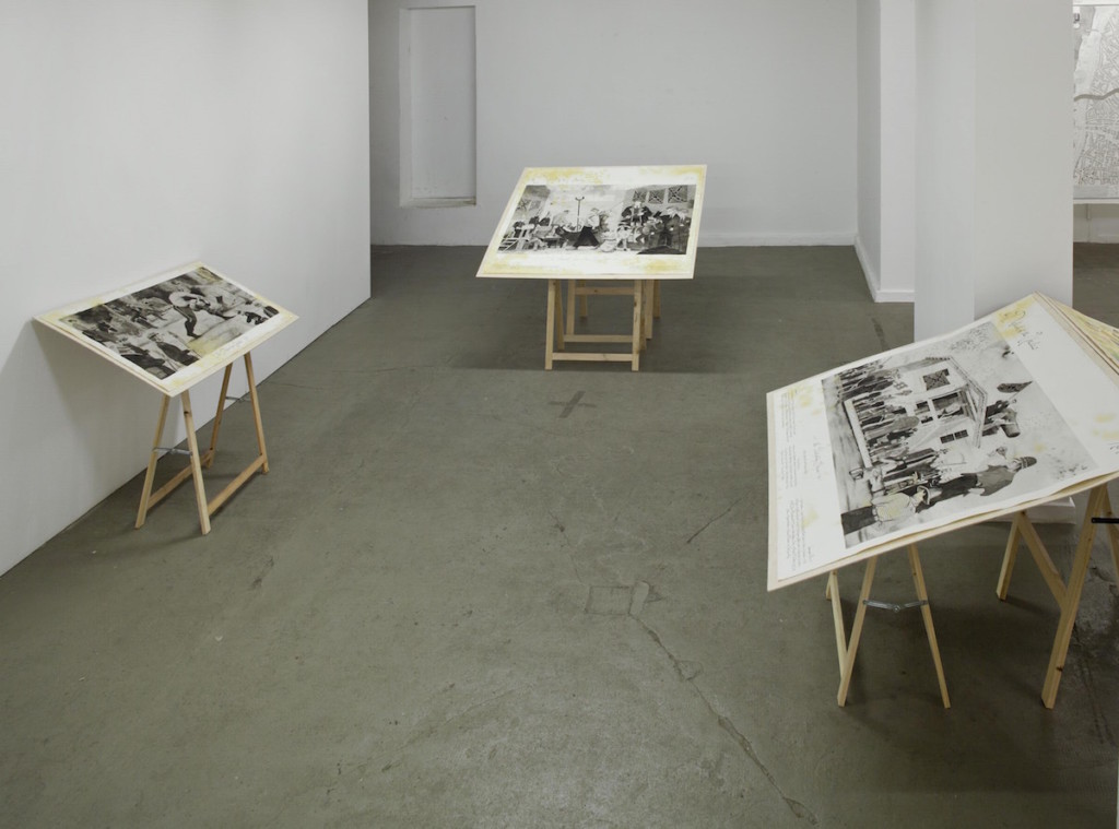 EBENSPERGER Beebe: The Men Who Tried to Catch Uncles Works Installation Views