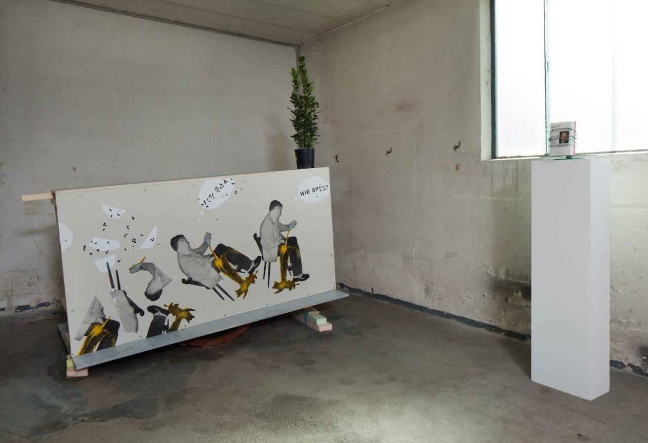 EBENSPERGER RHOMBERG Kaputt Installation Views
