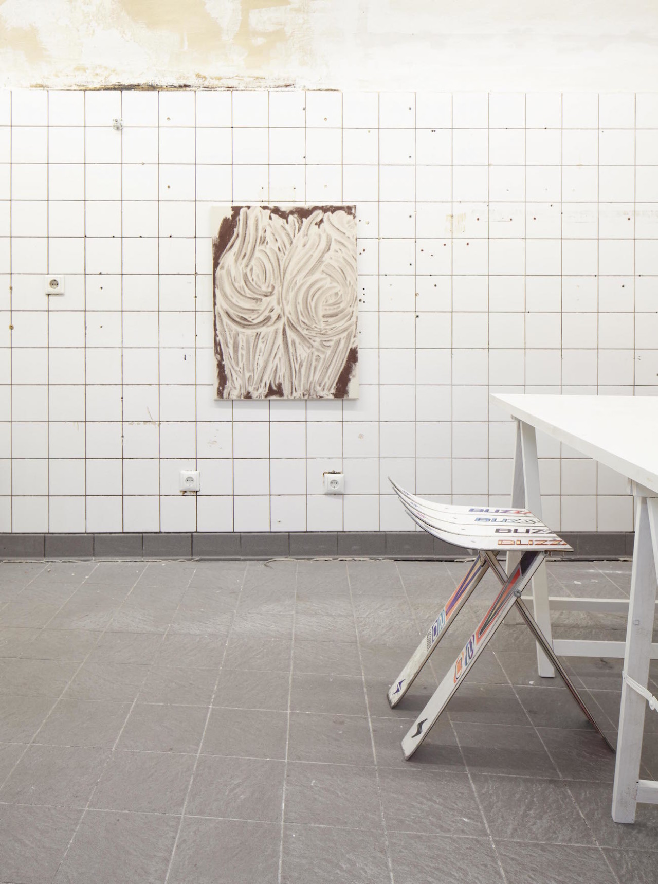 EBENSPERGER Feldmann: Creme Installation Views